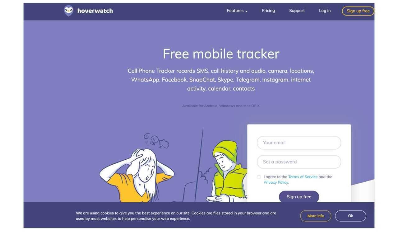 Hoverwatch Reviews - Phone Tracker Free | Mobile Tracke