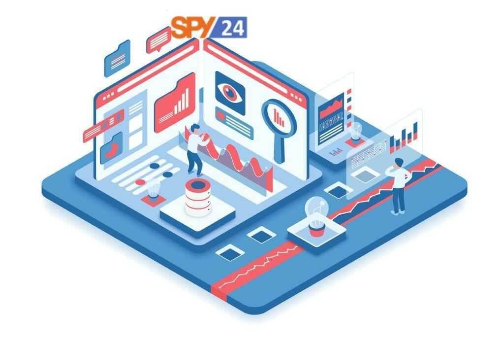 Spy app tracking mobile phone