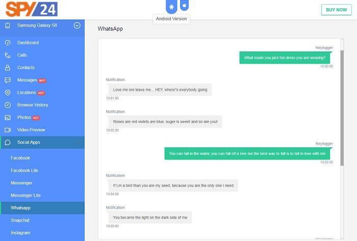 Application Spy Chat Free