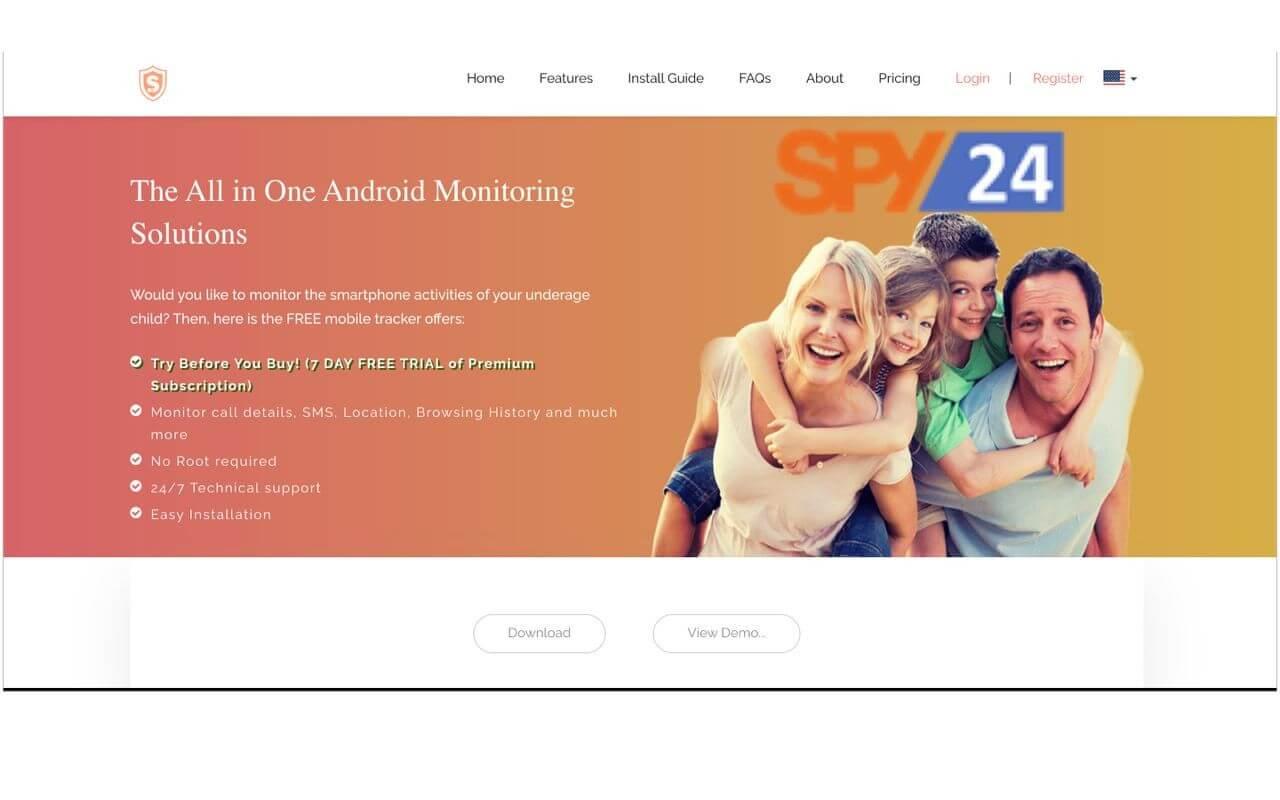 Spy human app