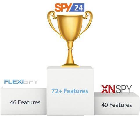 FlexiSPY vs SPY24 Is The Better Monitoring Application