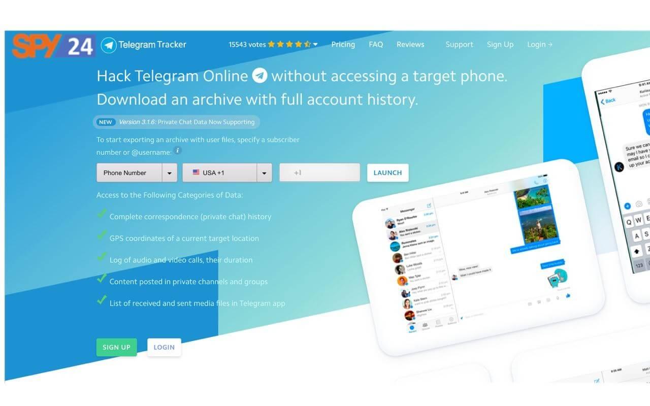 Hack Telegram Online | Telegram Spy