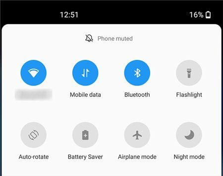Enable Android Airplane Mode