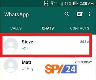 Part 1:How to see if someone is online on WhatsApp