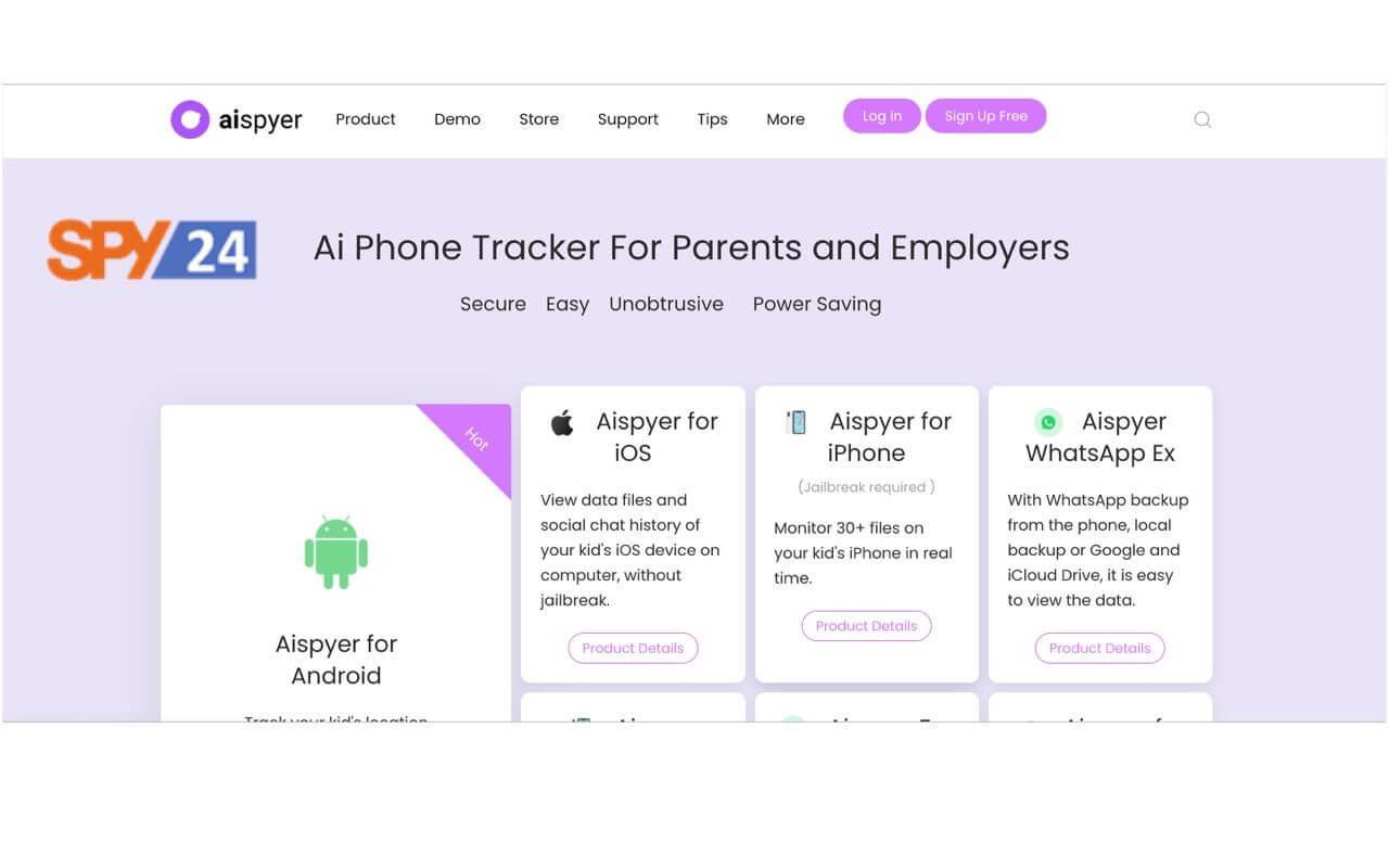 Aispyer App Download Free Spy WhatsApp