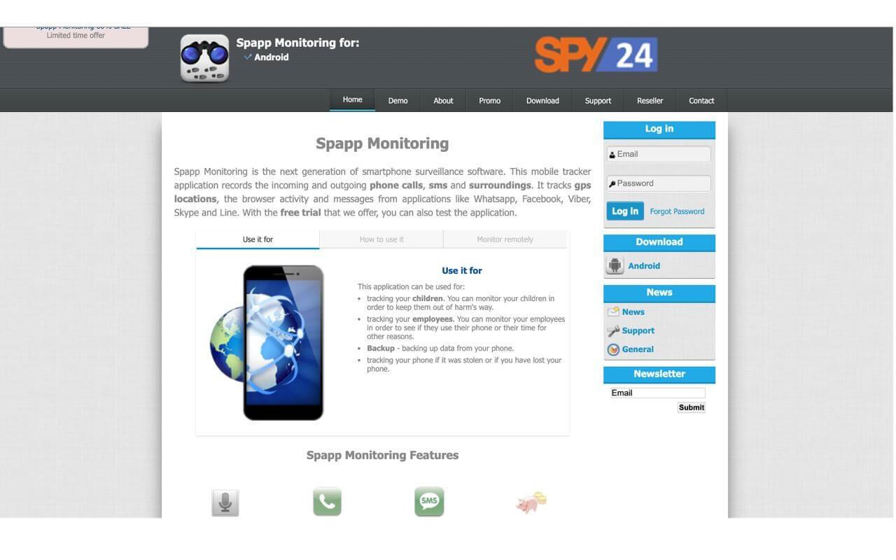 Spapp Monitoring App Reviews Download Apk Price
