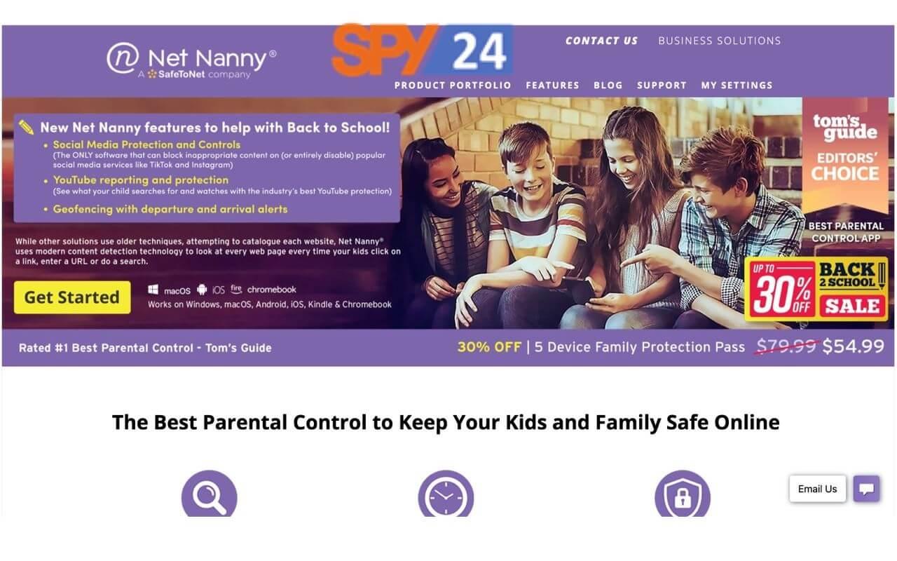 Net nanny App Free Review Login